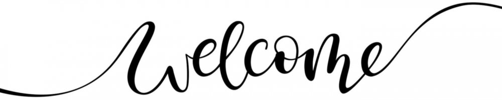 Welcome Banner Graphic